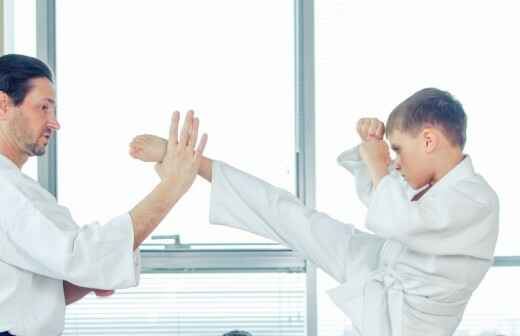 Karateunterricht