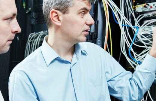 Netzwerk-Support Dienste - Skandinavisch