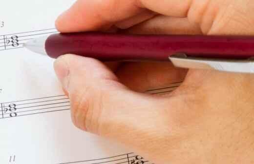 Unterricht für Musiktheorie - Komponist
