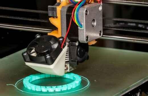 3D-Druck - Postkarte