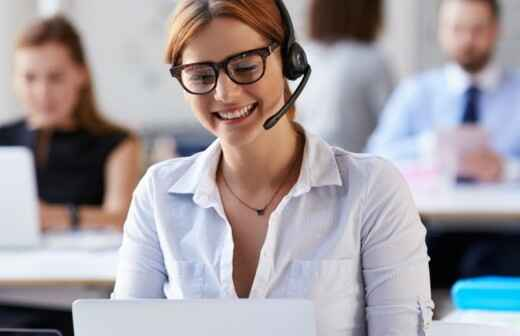 Kundendienst - Customer Support - Zeitpläne