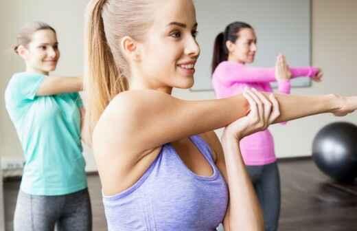 Privates Fitnesstraining (für eine Gruppe) - Protokoll