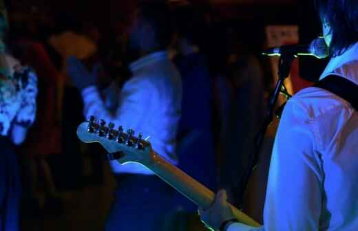 Blues-Band - Harfenspieler