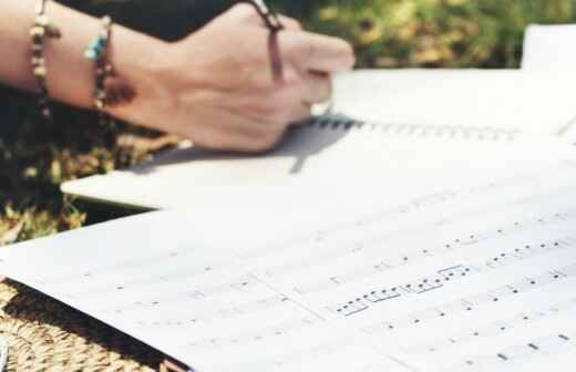 Songwriting (Liedtexte schreiben) - Vorschlag