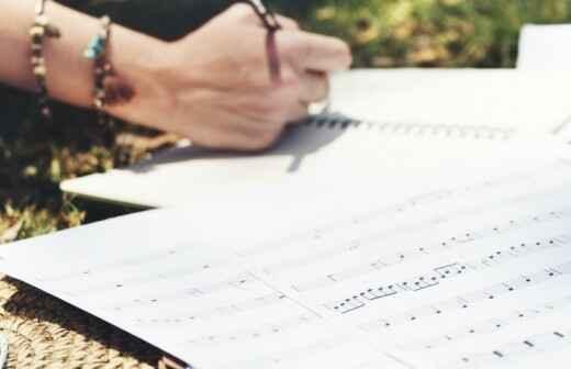 Songwriting (Liedtexte schreiben) - Aufzeichnung