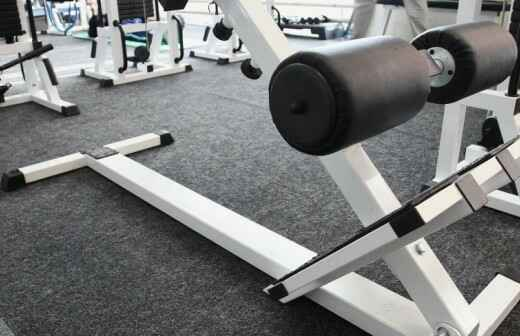 Fitnessgeräte reparieren - Dauer