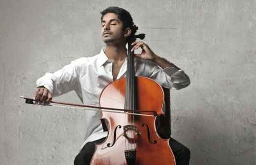 Cellounterricht - Drinnen