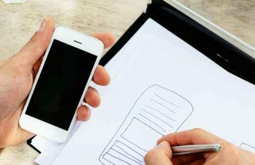App-Design - Entwurf