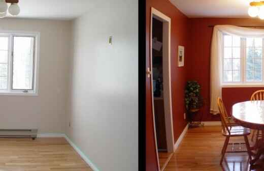 Home Staging - Wertsteigerung / Umstyling der Immobilie - Präsentation