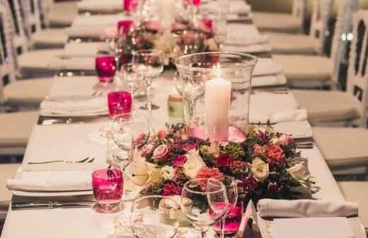 Decoración de eventos - Florista