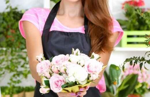 Florista de bodas - Funerales