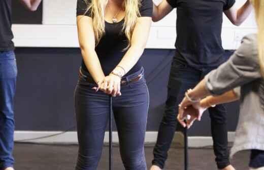 Clases de coreografía de baile - Animadoras