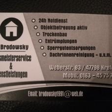 Hausmeisterservice & Dienstleistungen J.Brodowsky - Reinigung - Wesel