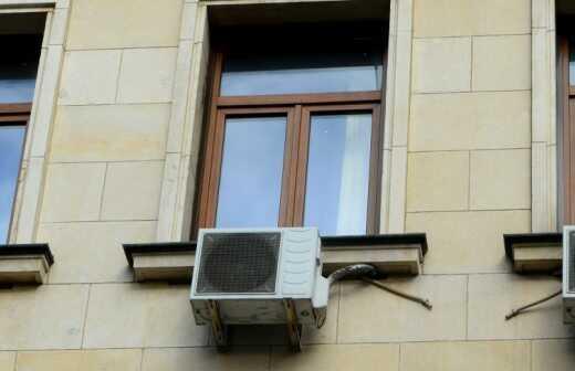 Fenster-Klimaanlage Installation - Reinigung