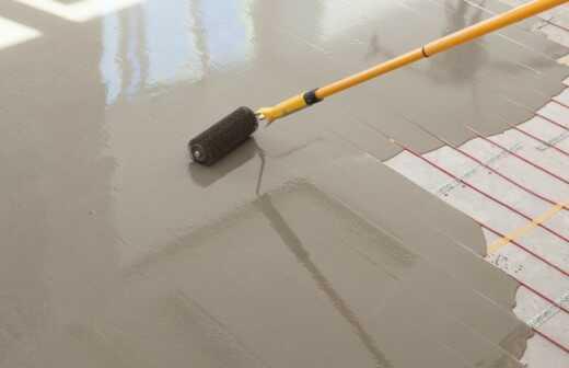 Fußbodenheizung installieren - Kiel