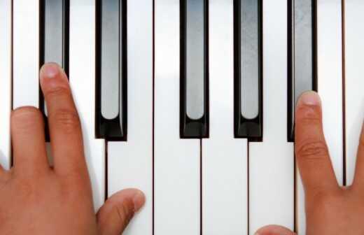 Keyboardunterricht - Düsseldorf