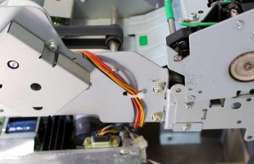 Bankautomaten reparieren - Reparaturen