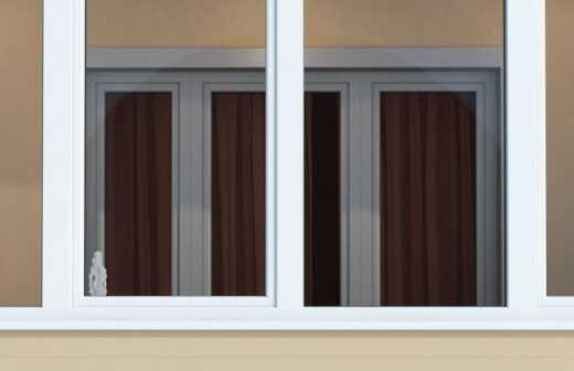 Balkonverglasung montieren - Tönung