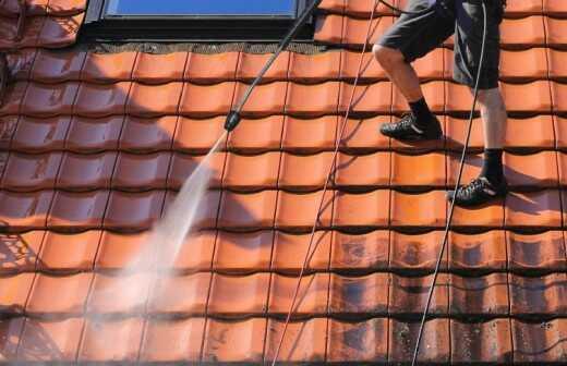 Dachreinigung - Dach Neu Decken