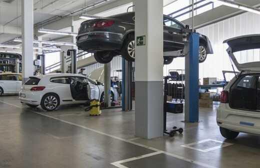 Autowerkstatt - Mercedes