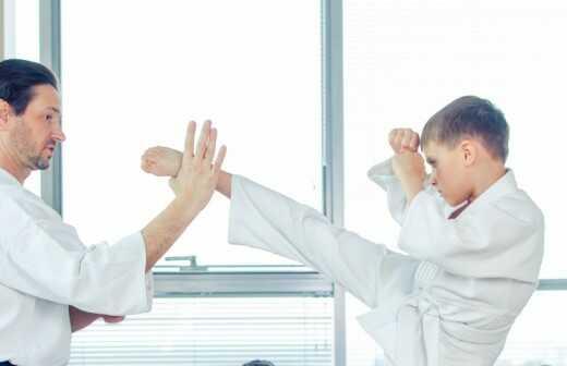 Karateunterricht - Judo