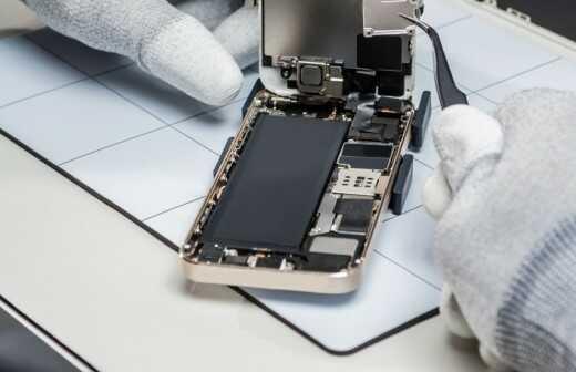 Telefon oder Tablet-Reparatur - Notfall