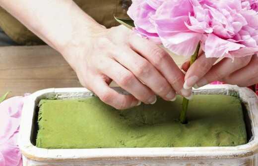 Blumenarrangement-Kurse - Seide