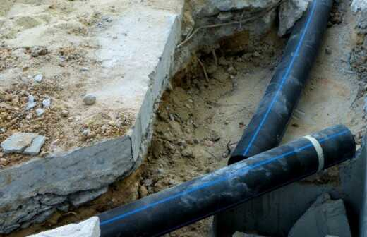 Rohrleitungen im Außenbereich reparieren oder warten - Reparieren