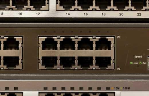 Router-Installation und Einrichtung - Einrichtung