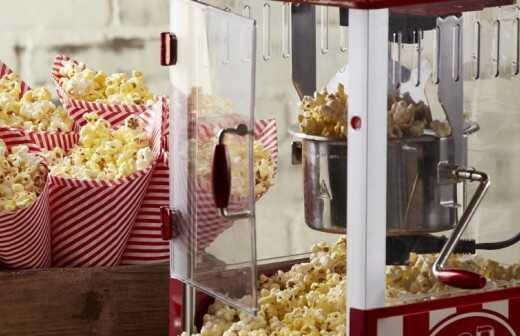 Popcornmaschine mieten - Anbieter