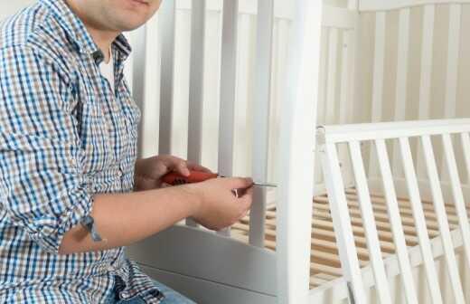 Kinderbett montieren - Bereit