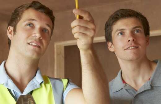 Gebäudeinspektion - Belichtung