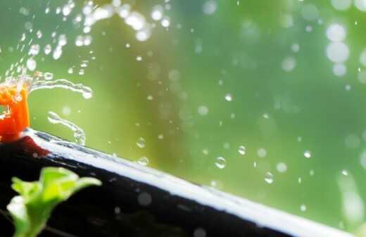 Automatisches Bewässerungssystem warten - Wiesbaden