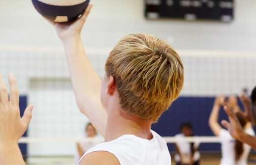 Volleyballtraining - Athlet
