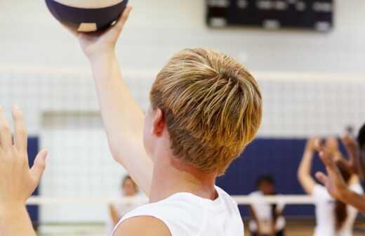 Volleyballtraining - Fitness-Studios