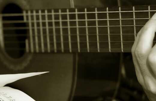 Bassgitarrenunterricht (für Erwachsene) - Streicher