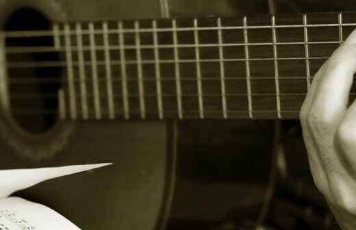 Bassgitarrenunterricht (für Erwachsene) - Fretless