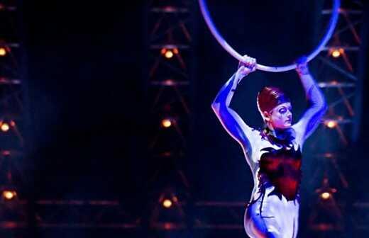 Zirkusnummer - Jonglieren