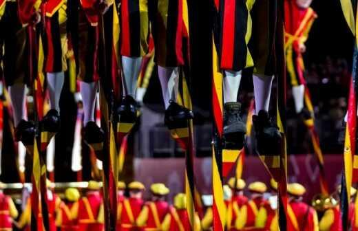 Stelzenläufer - Wiesbaden
