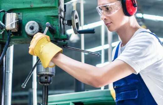 Metallverarbeitung - Prägung