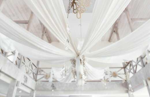 Hochzeitsdekoration - Ball