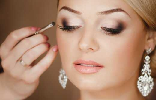 Braut-Make up - Glamour