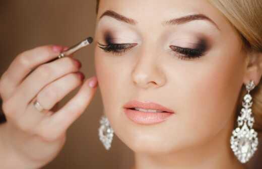 Braut-Make up - Tattoo