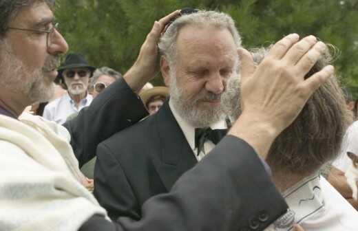 Offiziant für eine jüdische Hochzeit - Offiziant