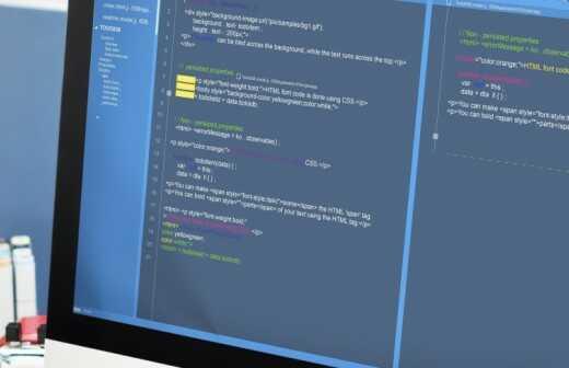 Webentwicklung - Webseite