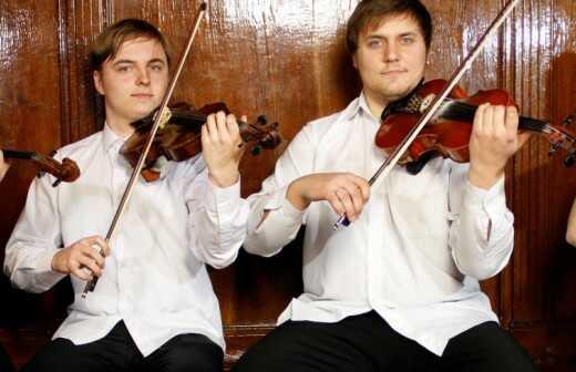 Streichquartett für die Hochzeit - Harfenspieler