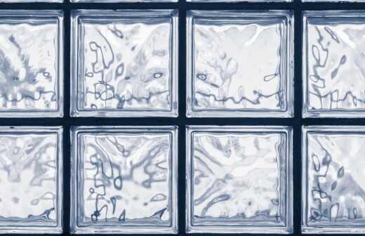 Glasbausteine anbringen - Wiesbaden