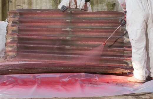 Asbestsanierung - Belichtung