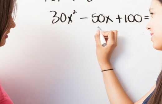 Nachhilfe in Algebra - Erklärer