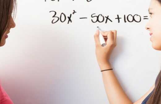 Nachhilfe in Algebra - Statistiken